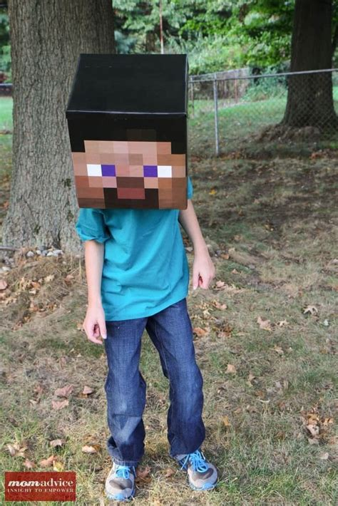 diy steve minecraft costume diy minecraft costume ideas momadvice