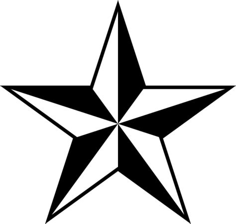 file nautical star svg