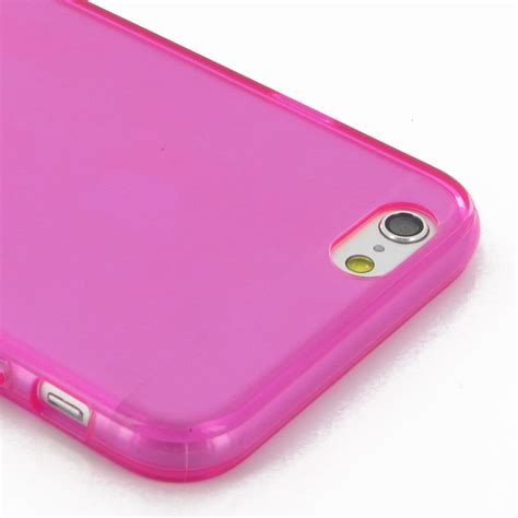 iphone 6 6s transparent soft gel petal pink pdair 10
