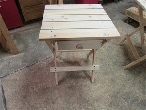 Folding Table With Drawers by Folding Table With A Drawer By Artsyfartsy Lumberjocks