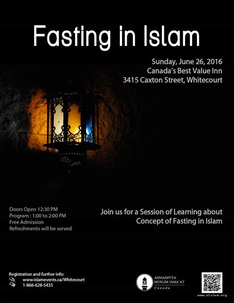 fasting in ramadan islam events whitecourt concept of fasting in islam