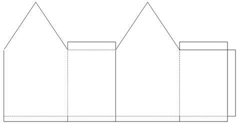 Paper Folding House Template - faith quest