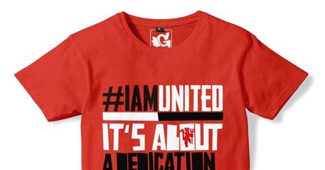 Kaos Mu Glow In The United Manchester United Re kaos distro bola manchester united 09 iam united fanatees