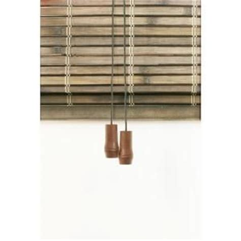 Driftwood L Shades by Home Decorators Collection Driftwood Flatweave Shade