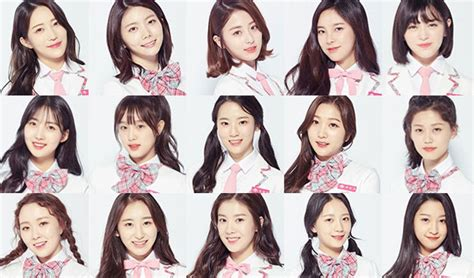 updated produce 48 korean trainee members profile mnet