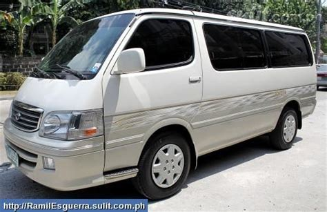 2nd Toyota Hiace For Sale In The Philippines 2004 Toyota Hiace Grandia For Sale From Manila