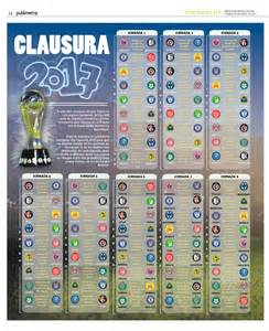 Calendario 2018 Liga Mx Calendario Completo Clausura 2017 De La Liga Mx