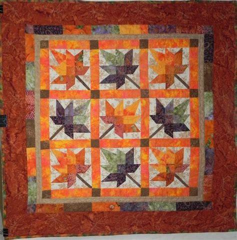 Quilt Leaf Pattern by Maple Leaf Quilt