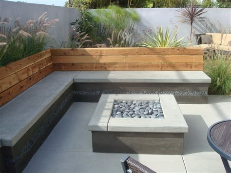 Modern Concrete Patio Designs Nathan Smith Landscape Design Modern Patio San Diego By Nathan Smith Landscape Design