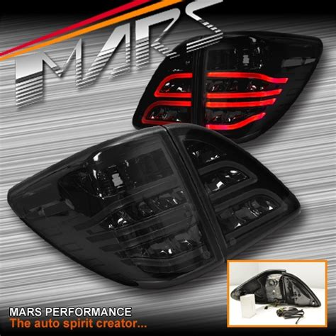 mazda bt 50 lights smoked black 3d stripe bar led lights for mazda bt 50