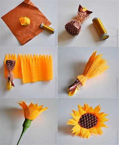 como hacer un girasol gigante de papel m 225 s de 25 ideas incre 237 bles sobre girasoles de papel en