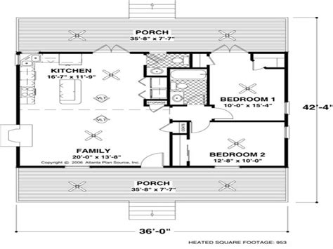 Small House Floor Plans Under 1000 Sq Ft Small House Floor House Plans 1000 Square And