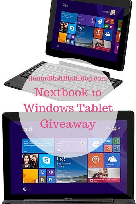 Windows 10 Giveaway - nextbook 10 windows tablet giveaway five dollar shake