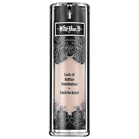 kat von d lock it tattoo concealer d lock it foundation musings of a muse