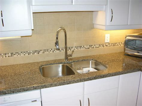 quartz countertop with backsplash kitchen toronto by