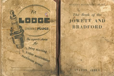 here it is books the bradford jowett 1952