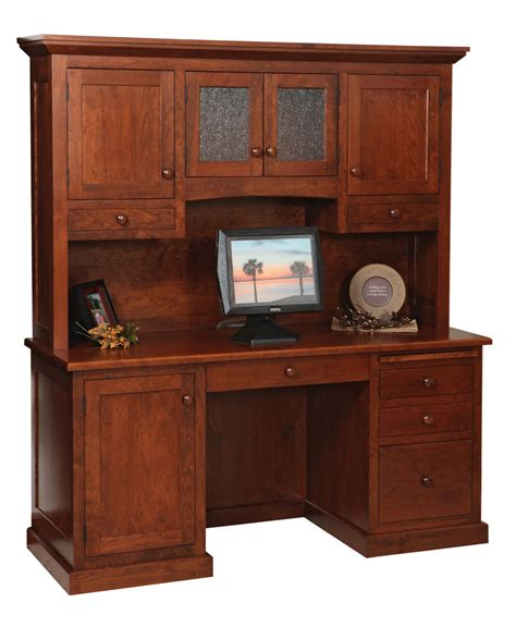 Amish Direct Furniture by Homestead Credenza And Hutch Amish Direct Furniture