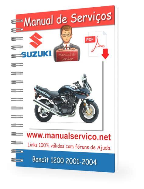 Suzuki Bandit 1200 Service Manual Manual De Servi 231 Os Suzuki Bandit 1200 2001 2004