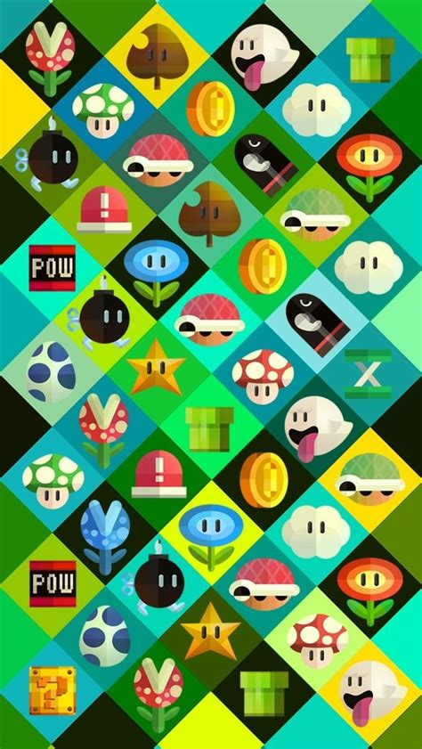 wallpaper for iphone mario wallpaper wednesday 5 super mario themed wallpapers for