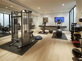 home gyms on luxury home total solutions