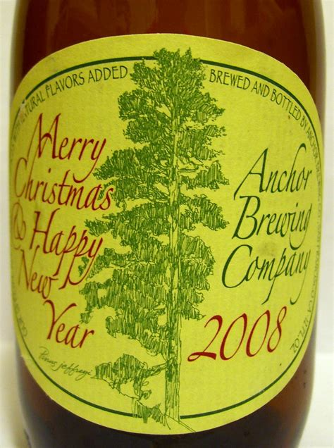 anchor brewing company merry christmas happy  year  flickr