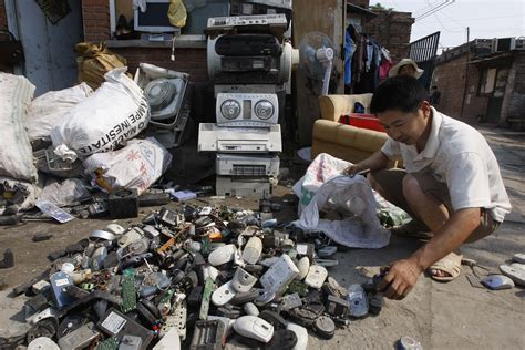 children electronic waste china e waste in developing countries endangers environment