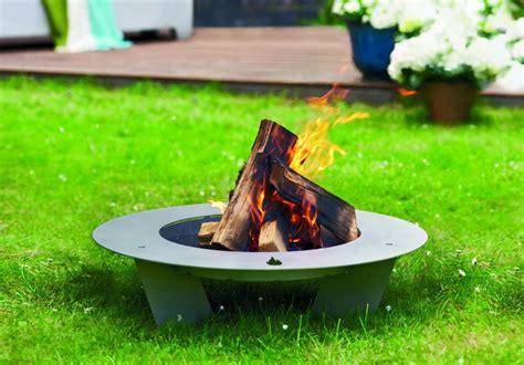 fireplate designer feuerschale 100cm edelstahl radius