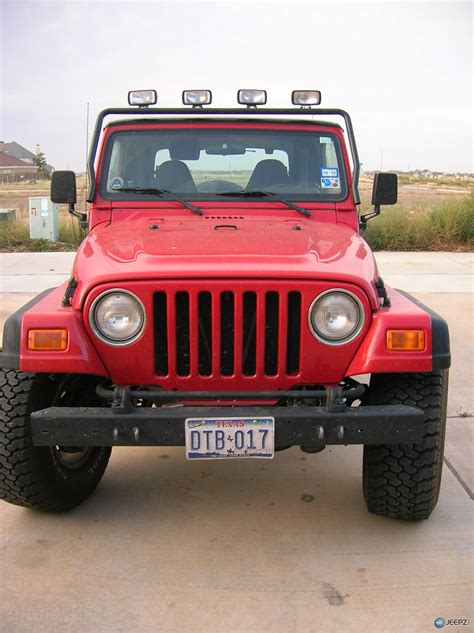 Jeep Wrangler Front License Plate Front License Plate Installation