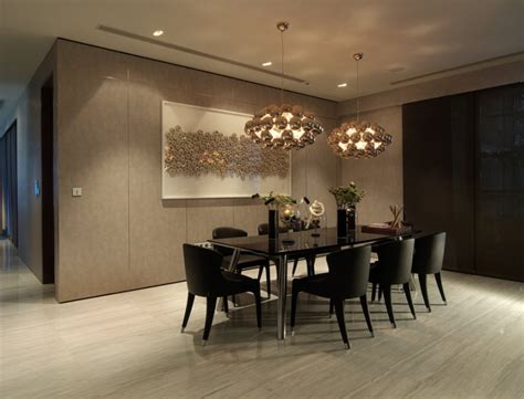 An Dining Room In Sophisticated Dining Room Interior Design Ideas