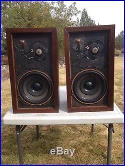 New Ar3 vintage ar 3 stereo speakers rebuilt upgraded acoustic research ar3 acoustic research speakers