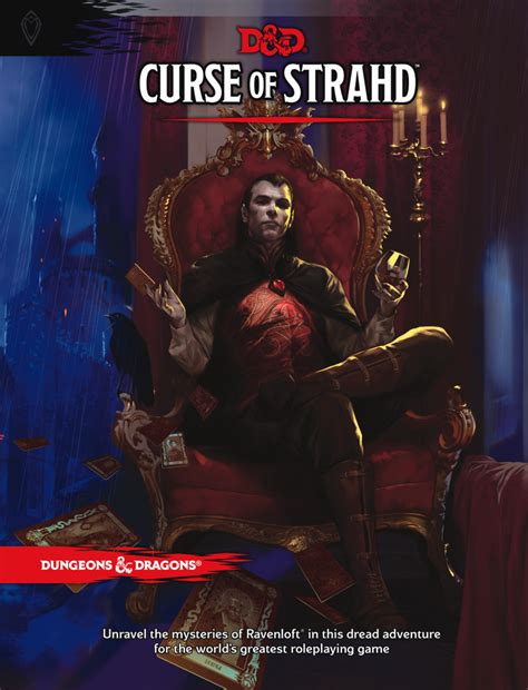5e supplement review curse of strahd dungeons dragons 5e strange