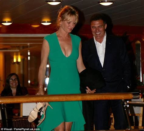 Uma Thurman Confirms Shes Dating Andre Balazs by Uma Thurman With On Again Boyfriend Andre Balazs