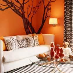 Living Room Accessories Orange Orange Decorating Ideas Selecting Colour Schemes