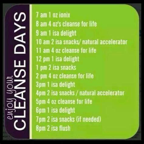 90 Day Detox Respawn by Cleanse Day Schedule Nutritionalcleansing Schedule