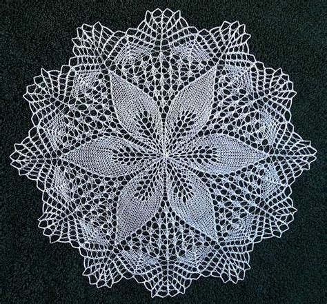 doily knitting patterns julie by shanley1123 via flickr tablecloth doily