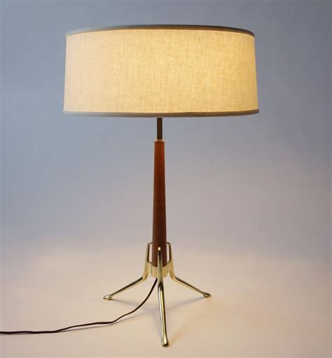 Mid Century Lightolier Table Lamp by Gerald Thurston at