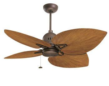 palm blade ceiling fan rubbed bronze nedmac outdoor ceiling fan w pecan palm