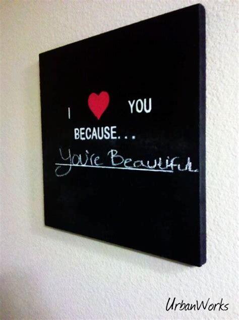 chalkboard paint stencils chalkboard paint a canvas stencil letters with