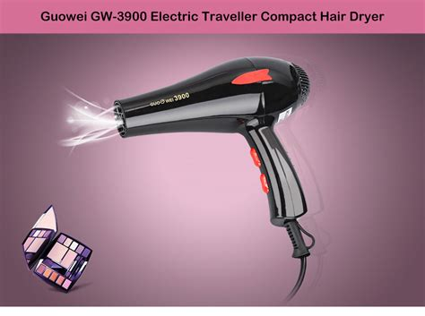 Powerful Mini Hair Dryer dropship guowei gw 3900 portable powerful electric