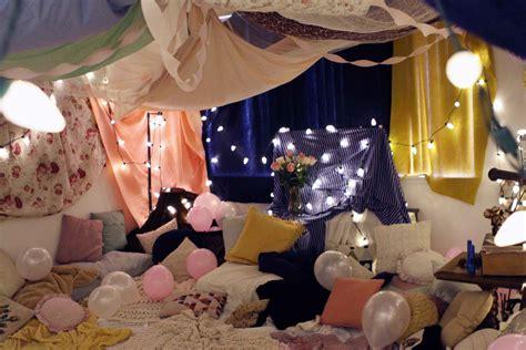 Sleepover Decorations by Princess Sleepover Ideas For