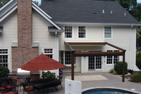 Retractable Awnings Nj by Residence Northern Nj Retractable Pergola