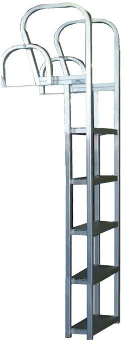boat word ladder answer bearcat aluminum square tube dock ladder l5firb 5 step
