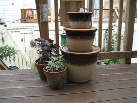 Deck Fountains by Diy Water For Deck