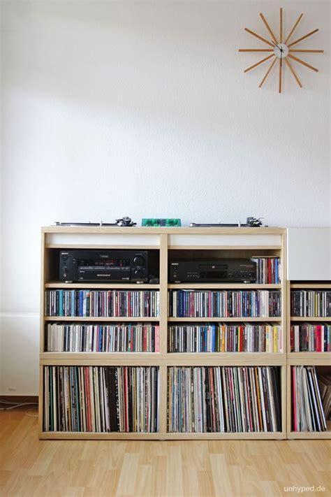 besta vinyl diy dj m 246 bel aus ikea s besta serie vinyls shelf desk