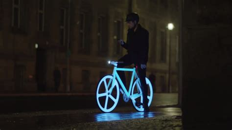 glow in the paint for bikes make your own glow in the bicycle anran li