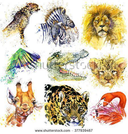 watercolor tattoo jaguar 22 best animal tattoos images on
