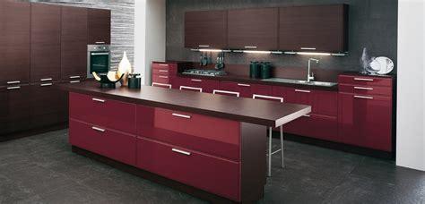 Burgundy Kitchen by Burgundy Brown Kitchen Interior Design Ideas
