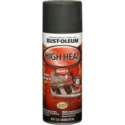 rust oleum high heat flat spray paint black body repair