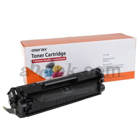 Toner Q2612a toner cartridges for hp laserjet 3055 all in one printer
