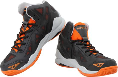 nivia typhoon basketball shoes buy black color nivia typhoon basketball shoes